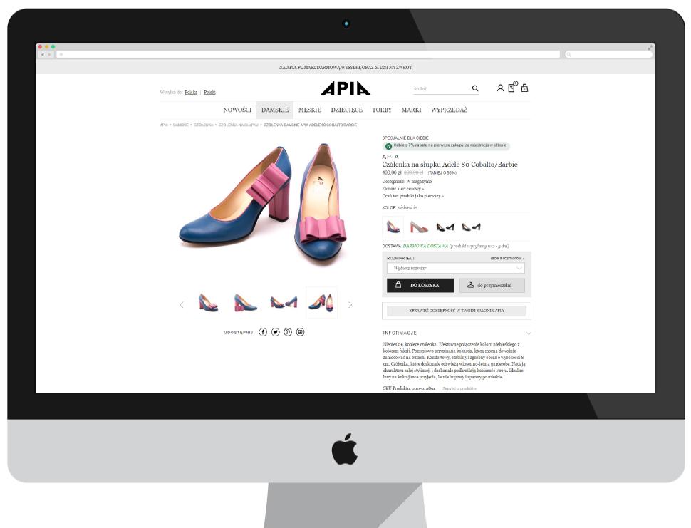 APIA - strona produktu