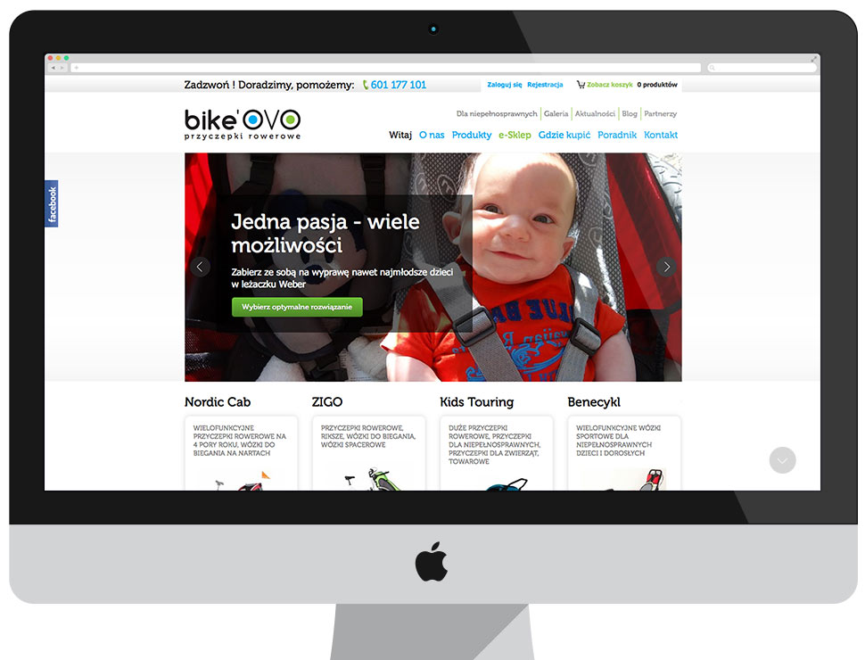 BikeOVO - sklep drupal commerce