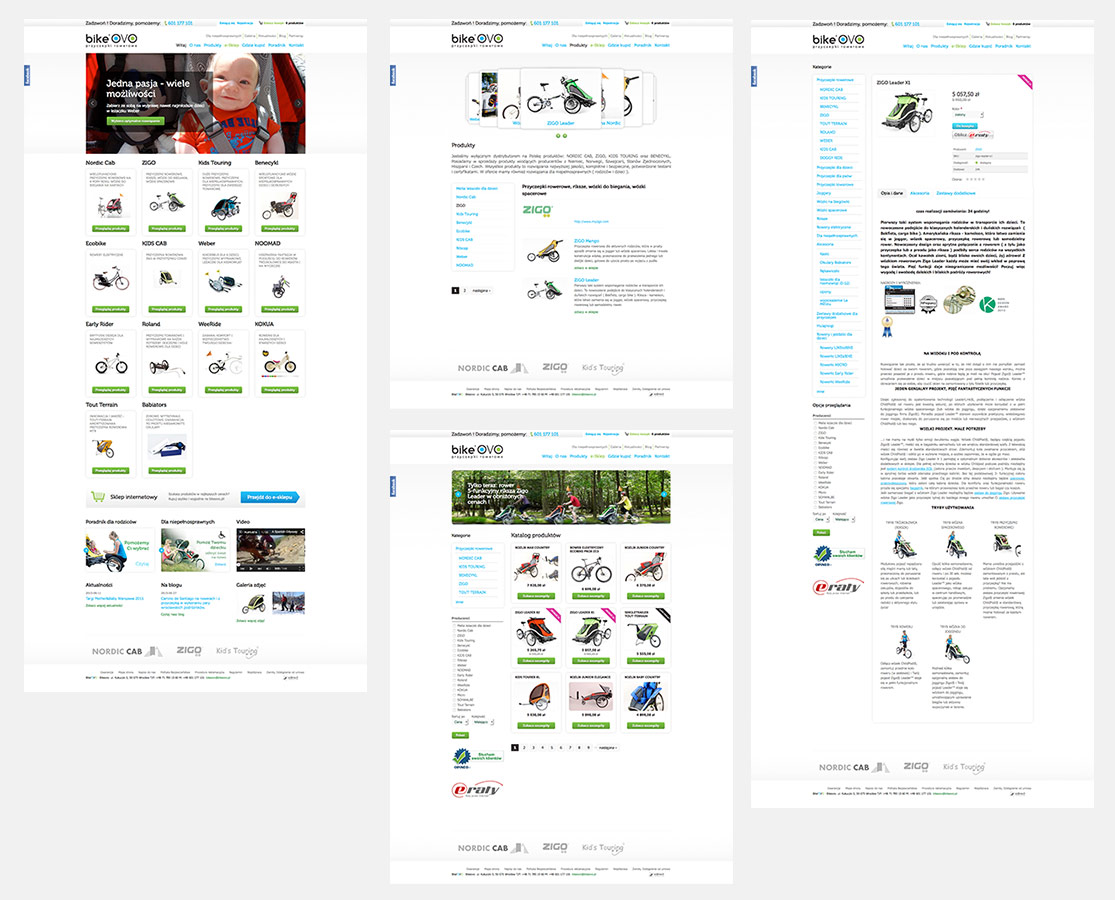 BikeOVO - sklep drupal commerce