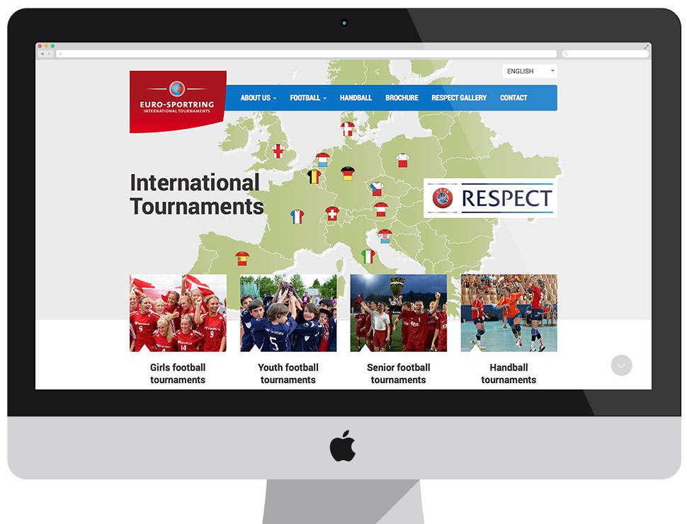 Euro-Sportring - zaawansowana strona CMS Drupal