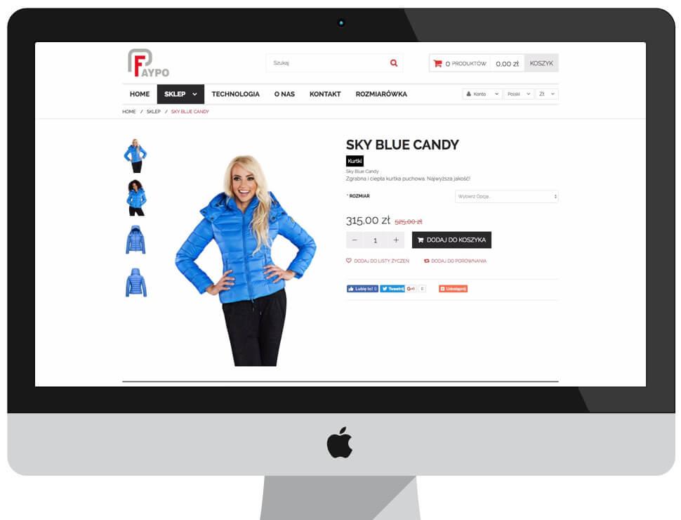 Faypo - sklep internetowy Magento