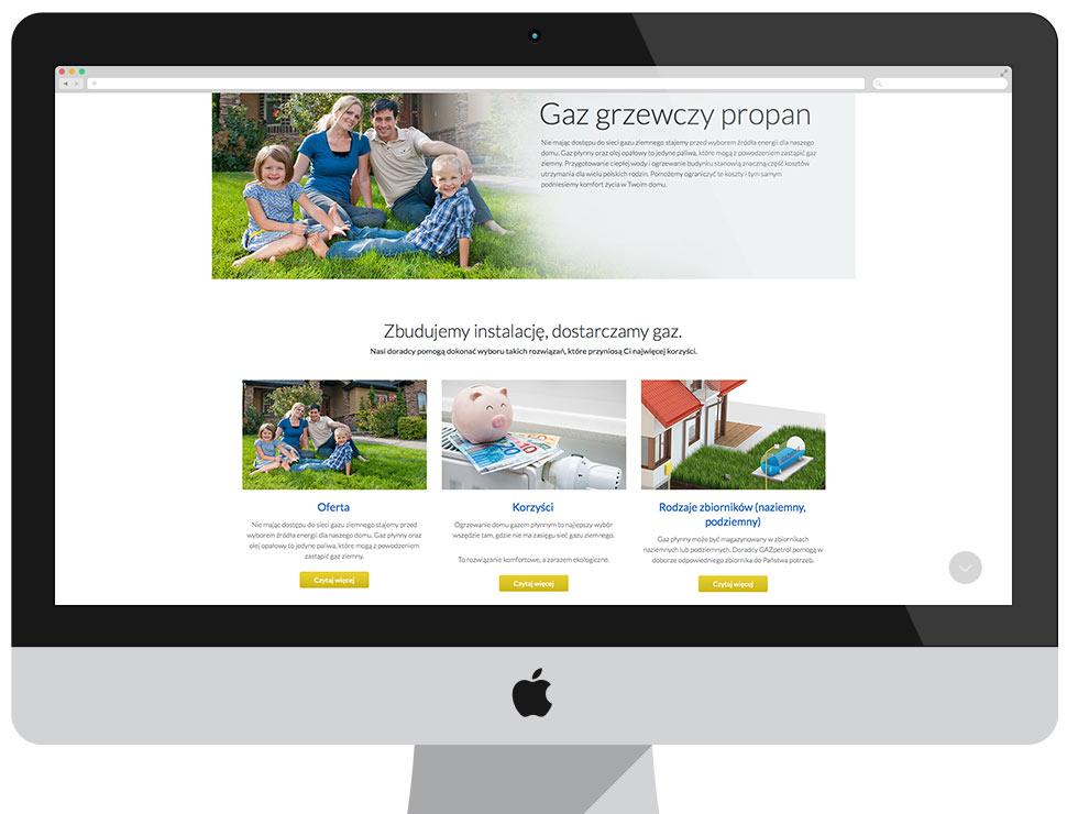 GAZpetrol - Imagewebsite CMS Drupal