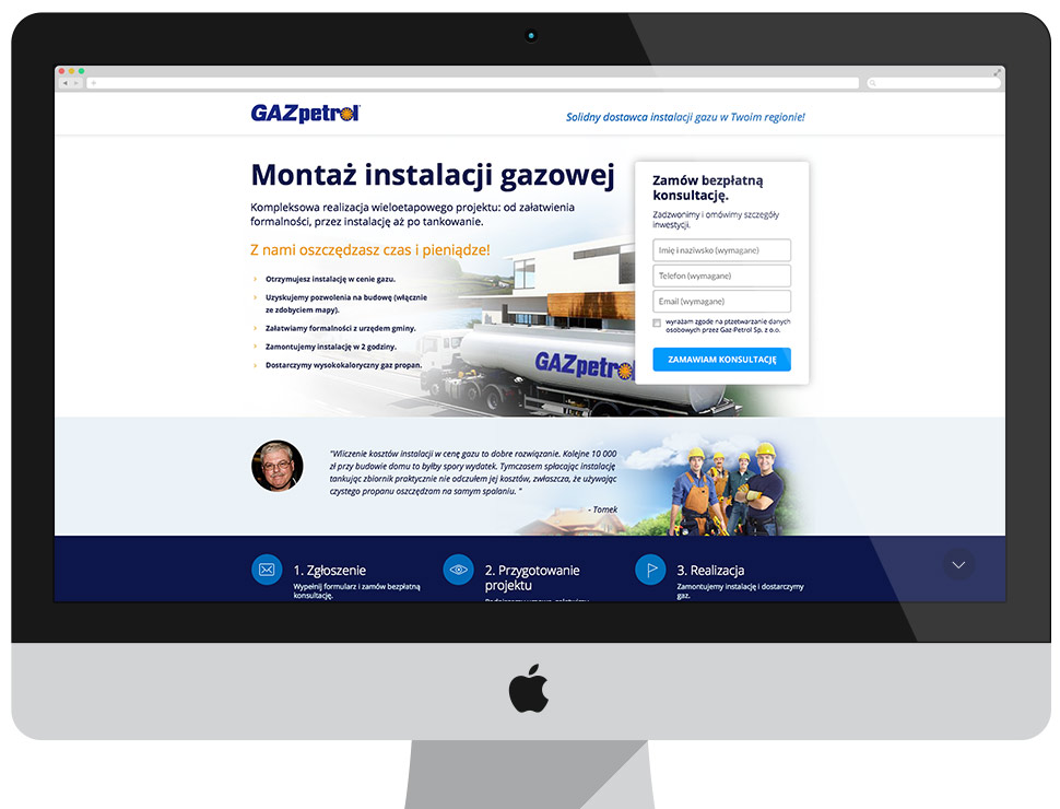 GAZpetrol - kampania adwords i spot reklamowy