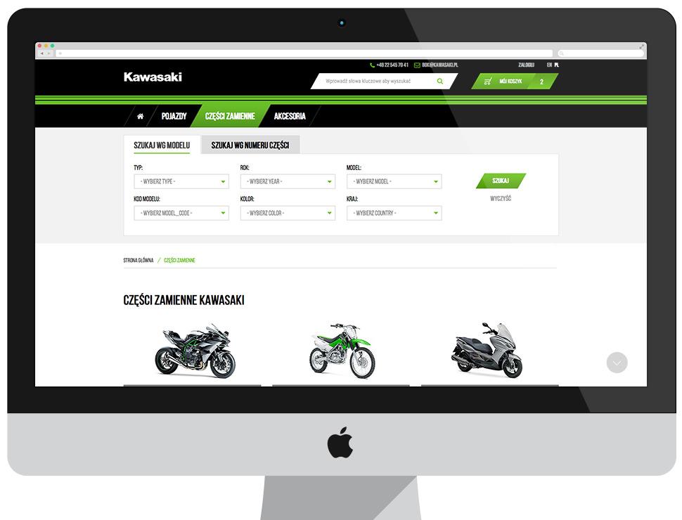 Oficjalny sklep internetowy Kawasaki w Polsce