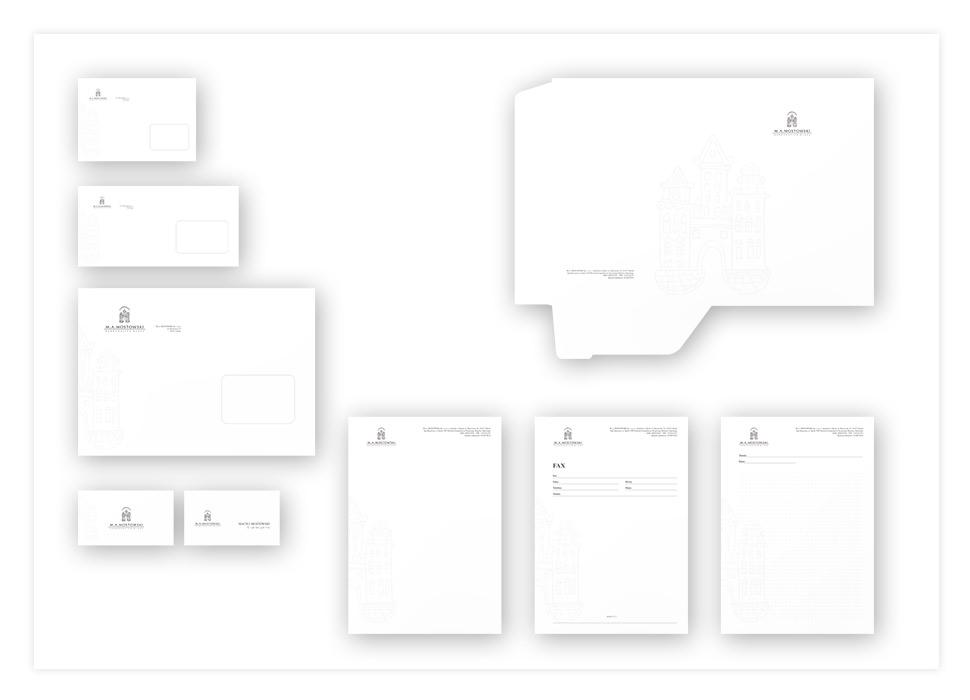 MA Mostowski projekt identyfikacji wizualnej marki