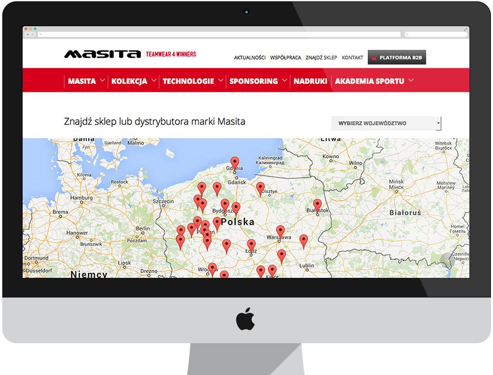 Masita - strona internetowa CMS Drupal