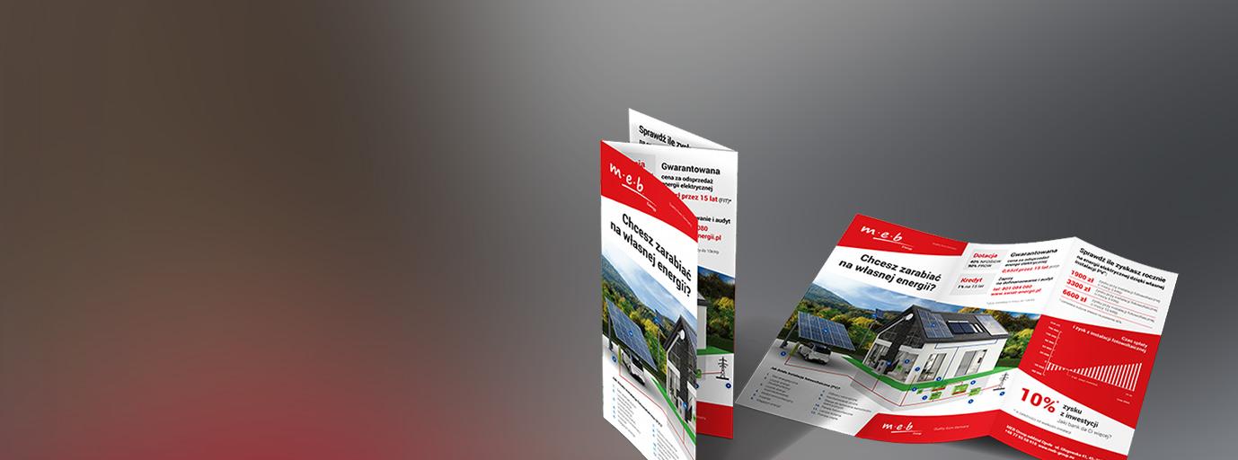 Materiały firmowe i reklamowe