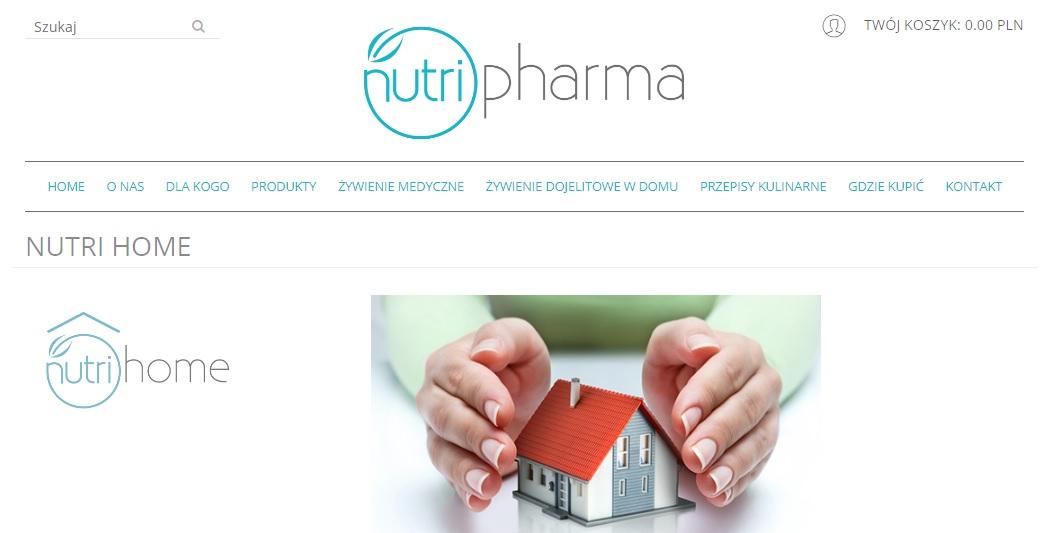 f378ae2f362c61 Realizacja sklepu internetowego NUTRIPHARMA | e-direct