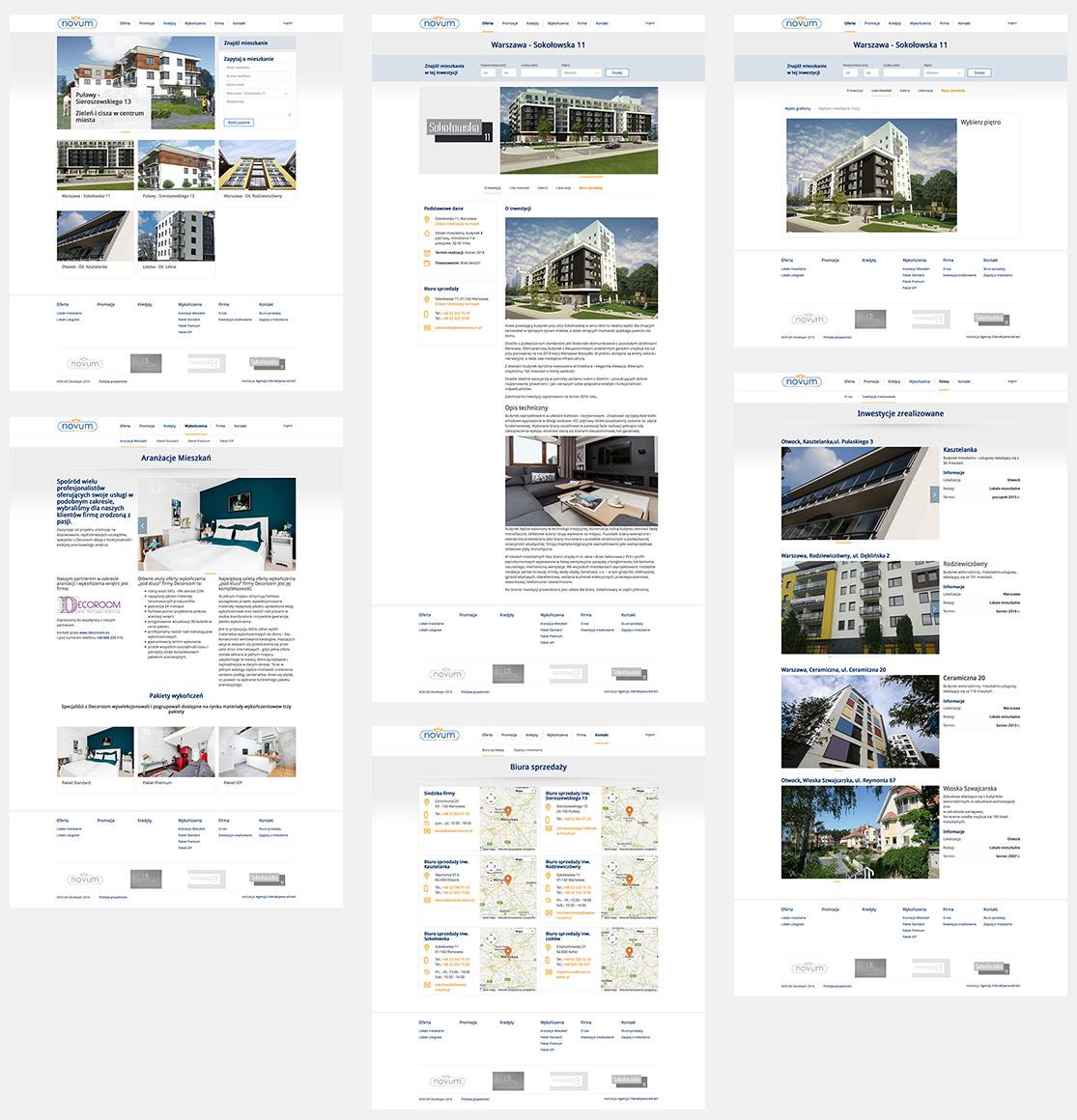 NOVUM Developer - strona wizerunkowa CMS Drupal