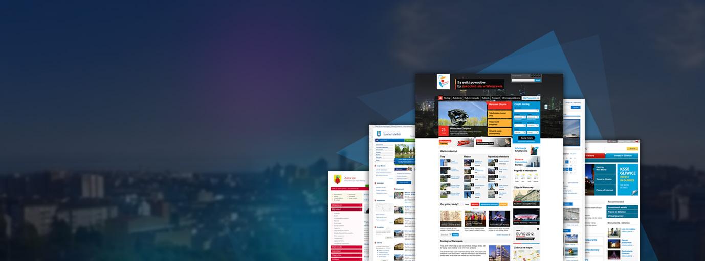 Portale internetowe dla miast i gmin
