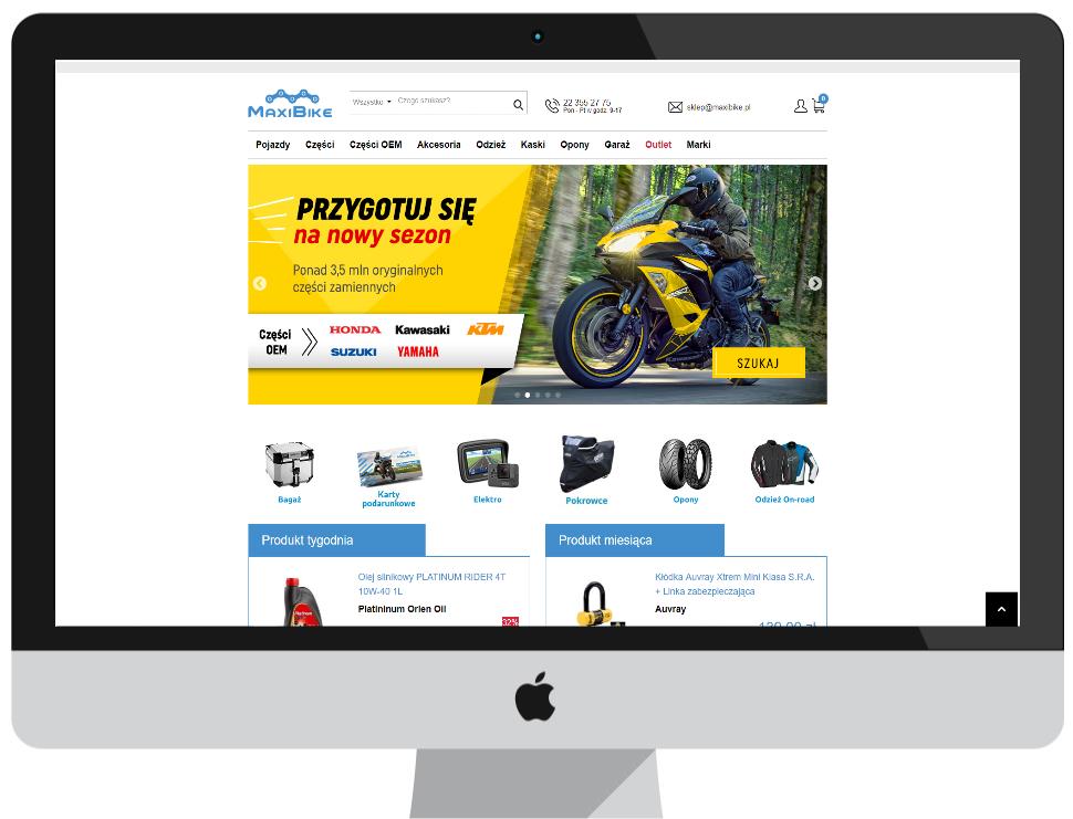 MaxiBike.pl - home page