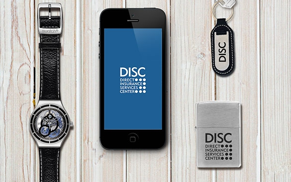 Direct Insurance Services Center - Konzept der Corporate Identity