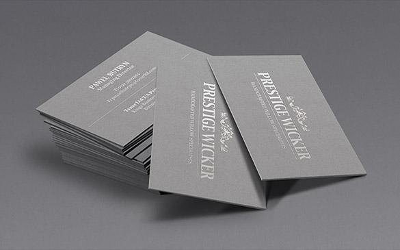 Prestige Wicker - identyfikacja wizualna
