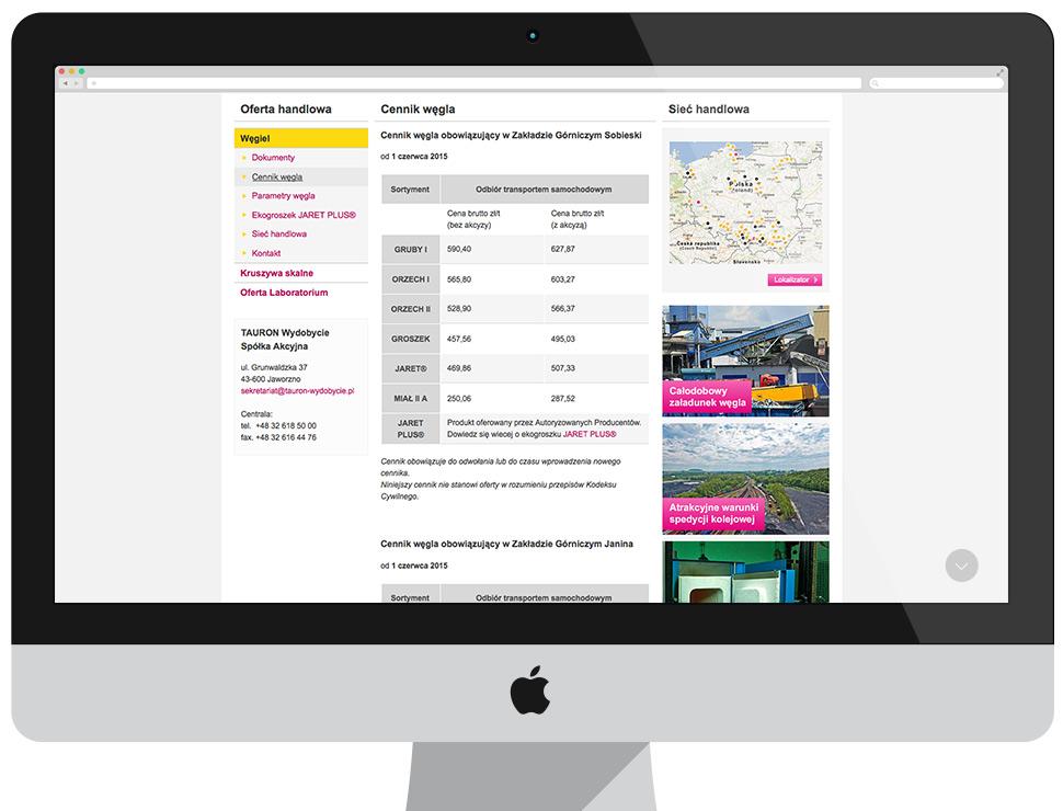 TAURON Wydobycie - serwis korporacyjny CMS Drupal