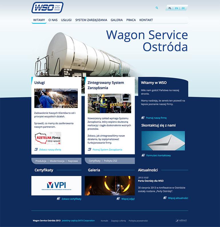 WSO Ostróda - serwis wizerunkowy CMS Drupal